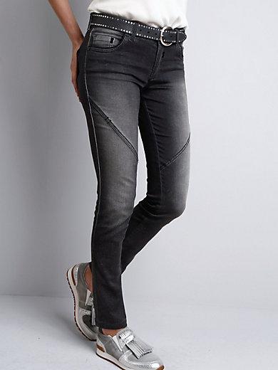 Sportalm Kitzbühel - Le jean slim décontracté, effet scintillant