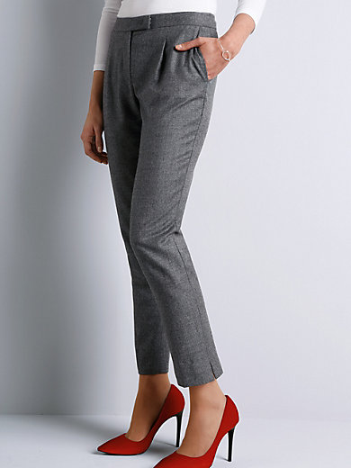 St. Emile - Ankle-length trousers with little waist pleats