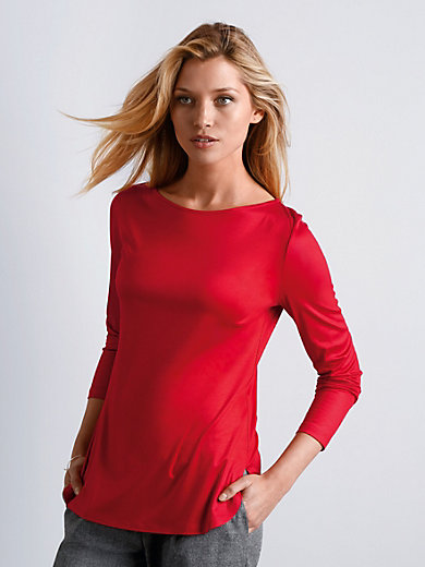 St. Emile - Top with a boat neckline