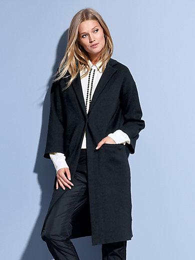 663e754f90e6 Steffen Schraut - Knitted coat - black