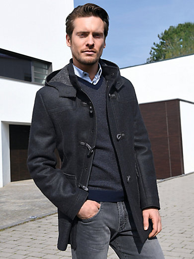 Steinbock - Milled wool duffel coat