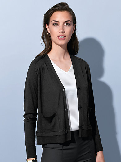 Strenesse - Cardigan in new milled wool and cashmere