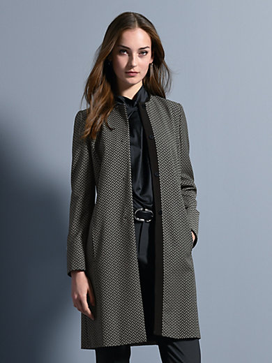 Strenesse - Coat in 100% new milled wool