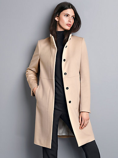 Strenesse - Coat with a raised collar