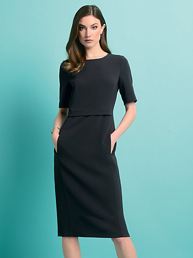 Strenesse - Dress with longer 1/2-length sleeves
