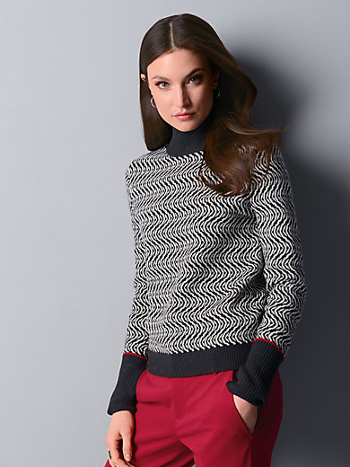 Strenesse - Stehkragen-Pullover