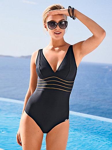 340ef08bf50bb0 Sunflair - Badpak - zwart/goudkleur