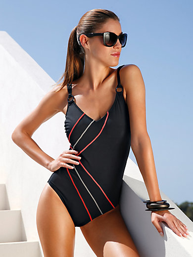 "Sunmarin - ""Darwin"" swimsuit with a V neckline"