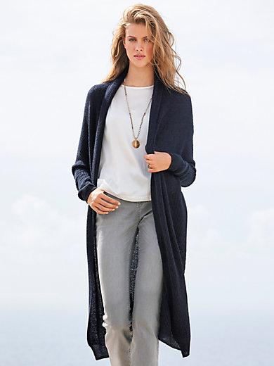 (THE MERCER) N.Y. - Le manteau en maille 100% cachemire