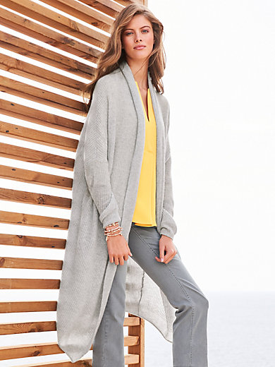 (THE MERCER) N.Y. - Open-fronted cardigan in 100% cashmere