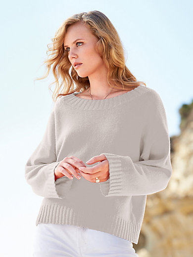 (THE MERCER) N.Y. - Round neck jumper in 100% cashmere