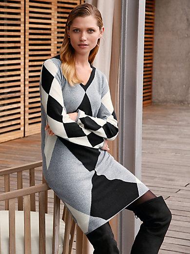 (THE MERCER) N.Y. - Stickad klänning i 100% kashmir