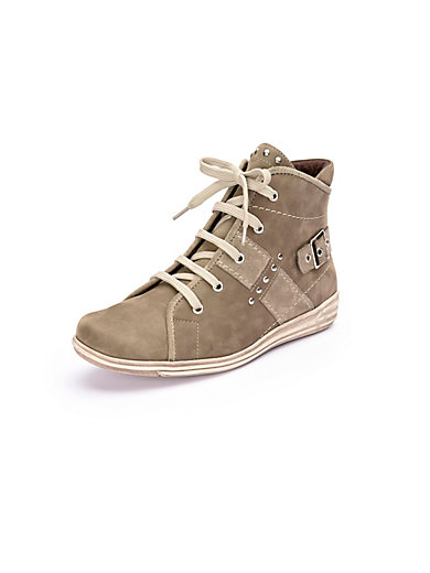 Theresia M. - Ankle-high lace-up shoes leather