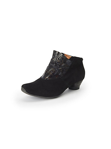 e5b897d9c3 Think! - Ankle boots in 100% leather - black