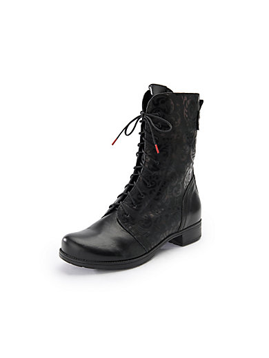 6a0b390dc4c7ec Think! - Lace-up ankle boots Denk in 100% leather - black