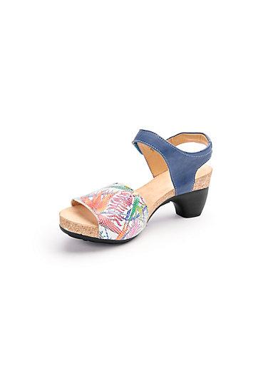 Les sandales à plateau Traudi 100% cuir Think multicolore ZgYmuV7oo