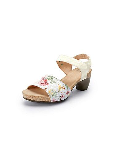 Les sandales à plateau Traudi 100% cuir Think multicolore oM5an0km