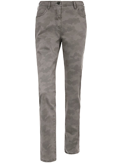 Toni - Jeans med camouflage-print