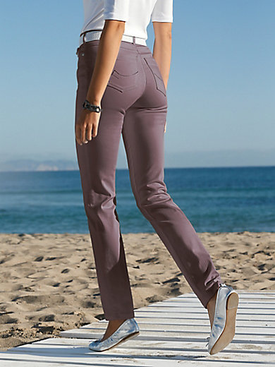 Toni - Le pantalon RELAXED BY TONI, coupe slim stretch