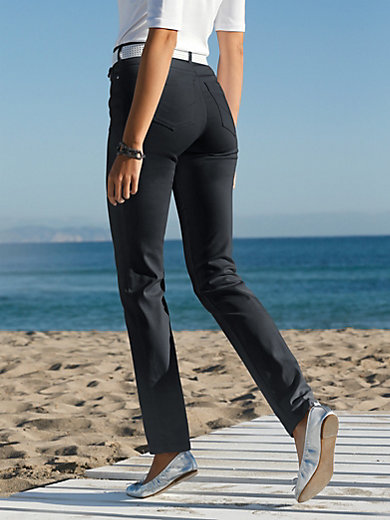 Toni - Le pantalon RELAXED BY TONI, coupe slim stretch