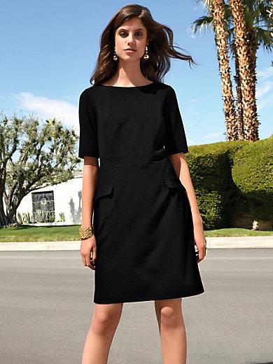 d54e7537e5184f Uta Raasch - Jersey-Kleid mit 1/2-Arm - Schwarz