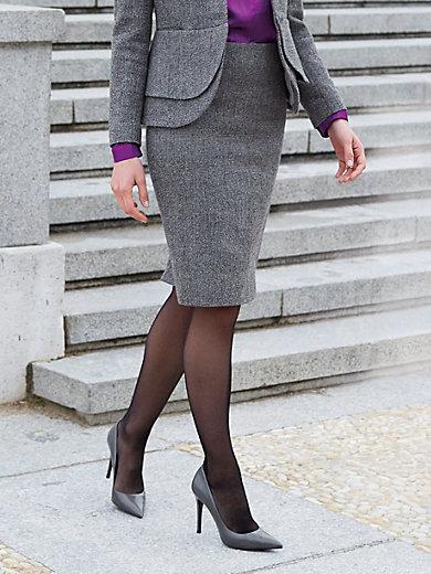 214064e223ac Uta Raasch - La jupe 100% laine vierge - gris noir