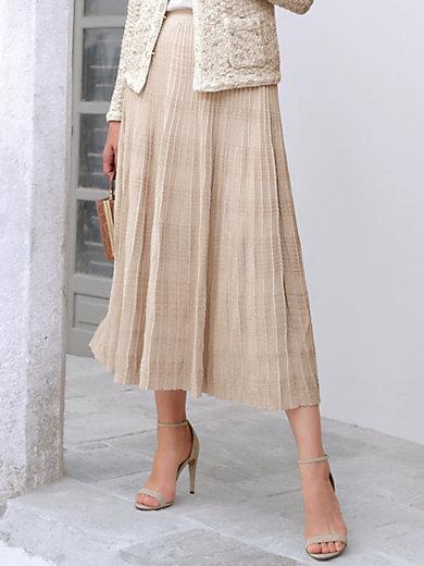 Uta Raasch - Pleated skirt with glitter effect