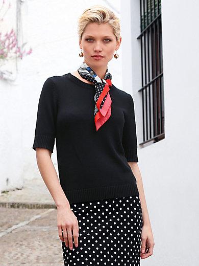 Uta Raasch - Pullover met ronde hals en korte mouwen