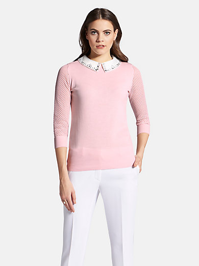 Uta Raasch - Pullover mit abnehmbaren Kragen
