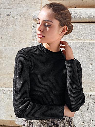 Uta Raasch - Pullover mit anliegendem Stehkragen