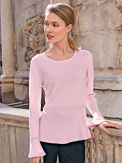 Uta Raasch - Round neck jumper with flared cuffs