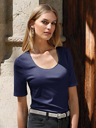 Uta Raasch - Rundhals-Shirt Modell LINDA mit 1/2 Arm