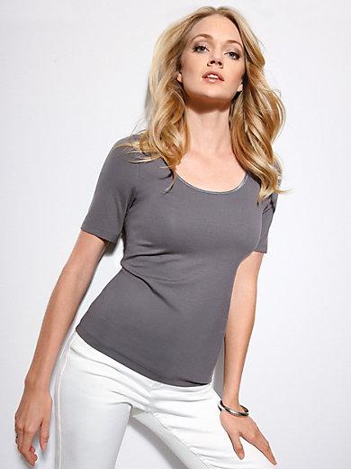 Uta Raasch - Sleek top with 1/2-length sleeves – LINDA