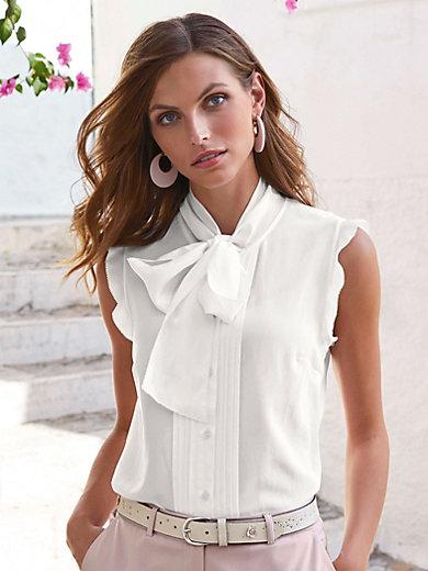 Uta Raasch - Sleeveless blouse in 100% silk