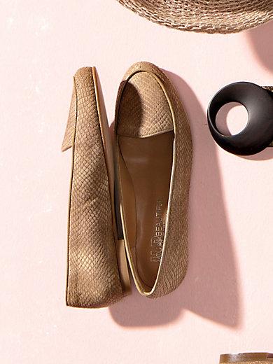 uta raasch slipper aus edlem ziegennappaleder beige. Black Bedroom Furniture Sets. Home Design Ideas