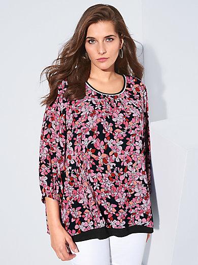 Via Appia Due - 2-in-1-blouse met 3/4-mouwen