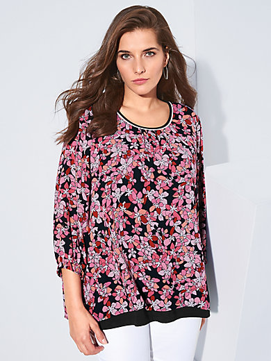 Via Appia Due - 2-in-1 blouse with elasticated waistband