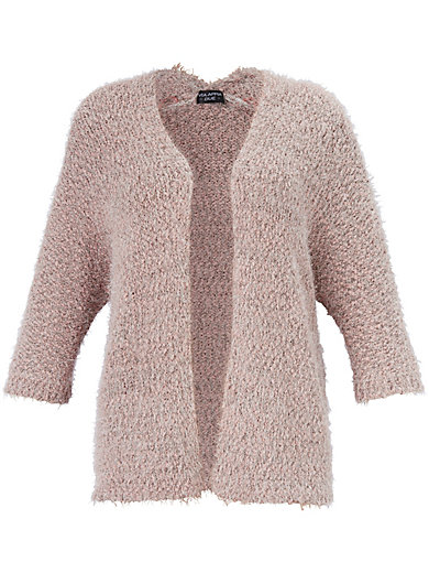 Via Appia Due - Cardigan in fashionable brushed look