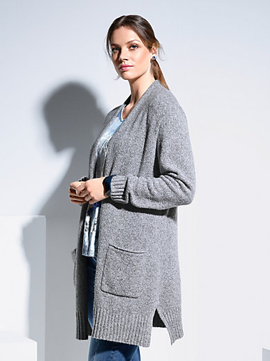 Via Appia Due - Long-Strickjacke