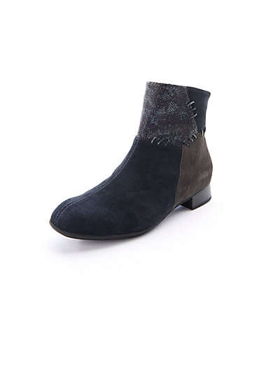 Waldlufer Les bottines en cuir velours, esprit patchwork