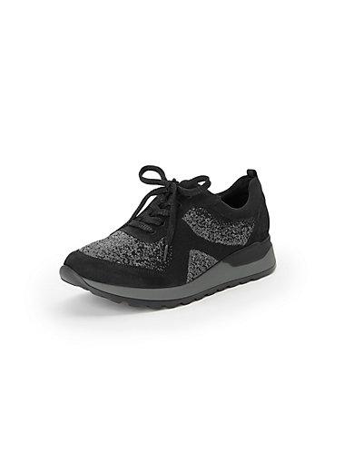 fa5d3d3449e Waldläufer - Sneakers för kvinnor, modell Hiroko Soft - svart/grå