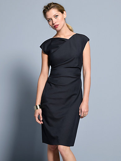 Windsor - Dress with cap sleeves