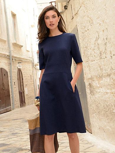 Windsor - Klänning med kort ärm - marinblå 1ac6a0297706b