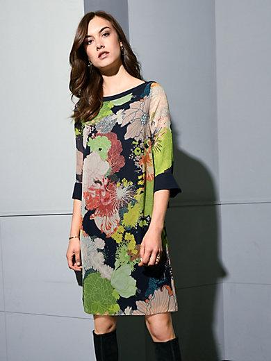 Windsor - Kleid mit Flower-Print aus 100% Seide