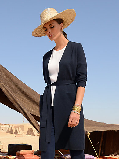 Windsor - Knitted coat in 100% wool