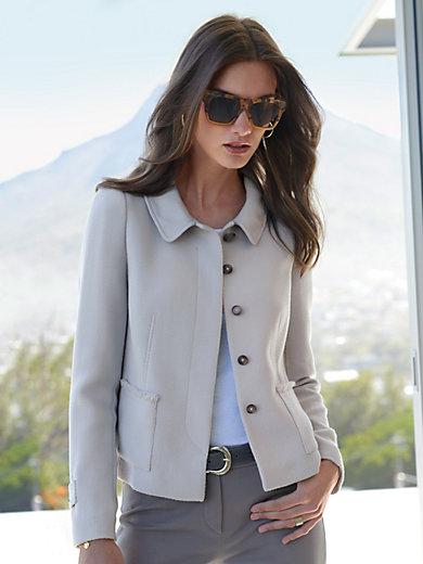 Windsor - La veste courte en laine vierge