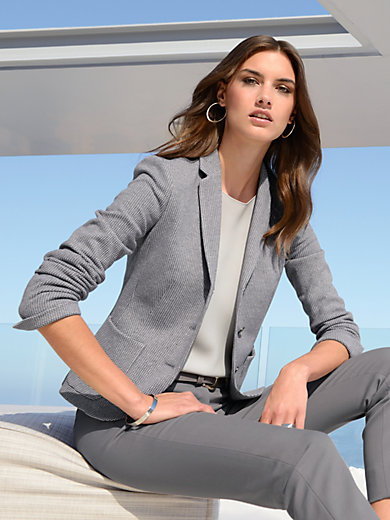 Windsor - Le blazer en jersey extensible
