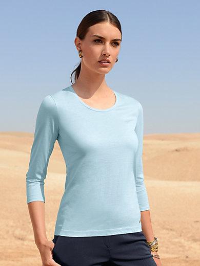 Windsor - Le T-shirt manches 3/4 en pur coton