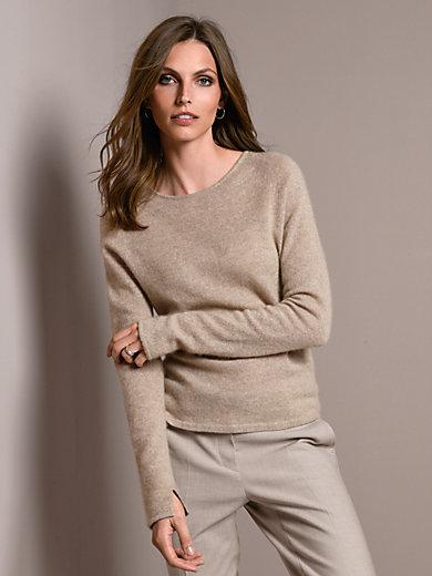 Windsor - Rundhals-Pullover aus 100% Kaschmir