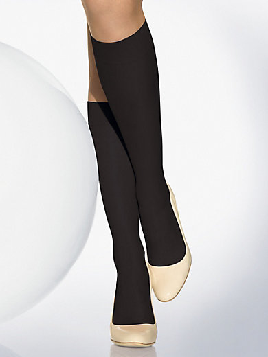 "Wolford - Feinkniestrumpf ""Sheer 15 Knee-Highs"""